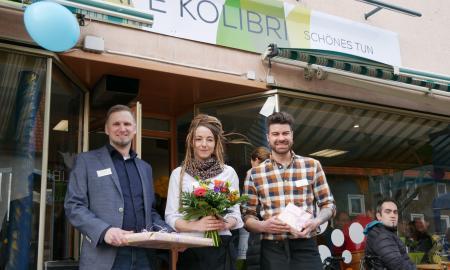 Eröffnung des Café Kolibri in Salzgitter-Bad