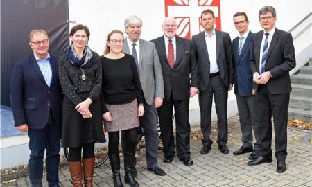 Sandra Queer (2. v. lks.) vertritt den DiCV Hildesheim in der AG CEBN