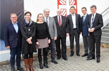 Sandra Queer (2. v. lks.) vertritt die Stiftung Kath. Behindertenhilfe im Bistum Hildesheim in der AG CEBN