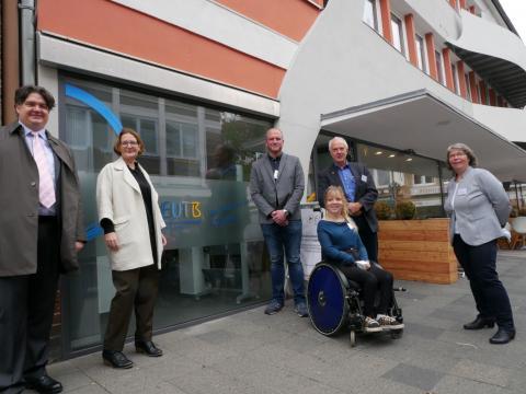 Abteilungsleiterin aus dem Bundesministerium für Arbeit und Soziales besucht EUTB-Beratungsstelle in Hildesheim